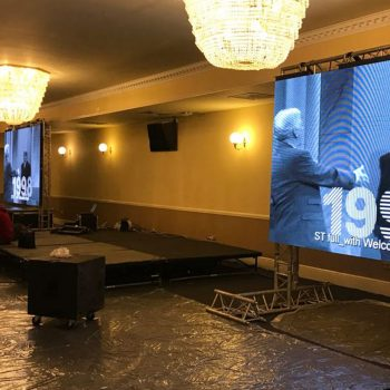 corporate promotional big screen hire 2