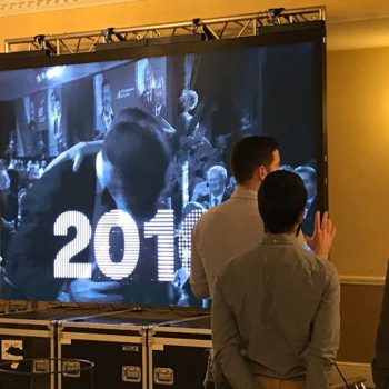 corporate promotional big screen hire 3