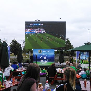 event fanzone big screen hire 10