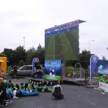 event fanzone big screen hire 14