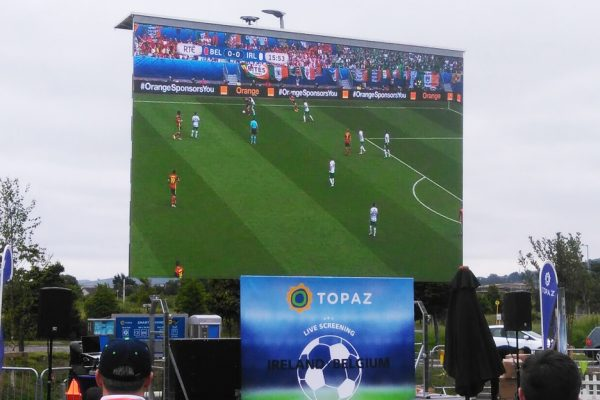 event fanzone big screen hire applications