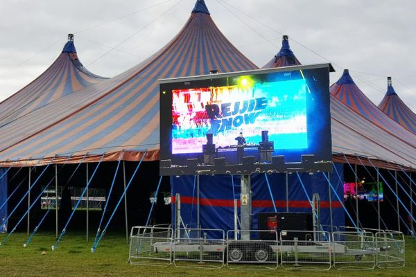 festival concert big screen hire