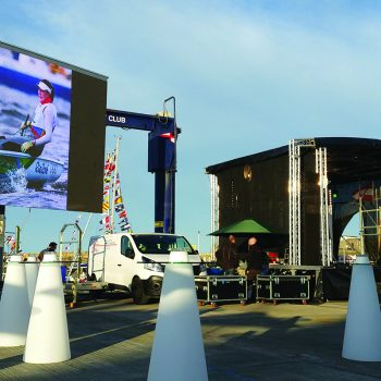 homecoming events big screen hire 7
