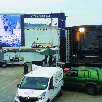 homecoming events big screen hire 6