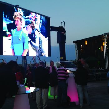 homecoming events big screen hire 3