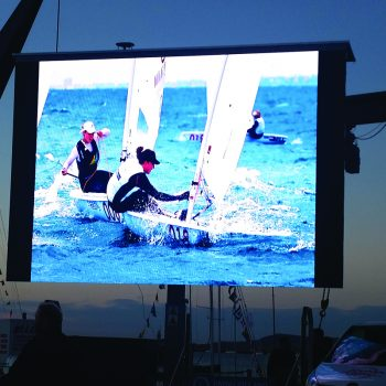 homecoming events big screen hire 2