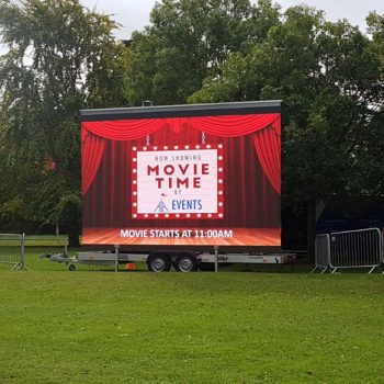 outdoor cinema big screen hire 1