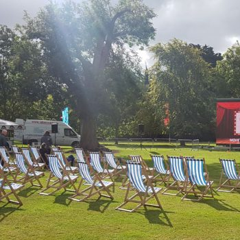 outdoor cinema big screen hire 2