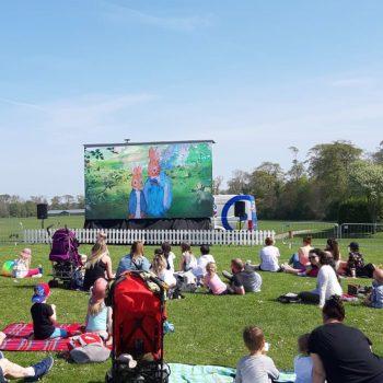 outdoor cinema big screen hire 2019 2