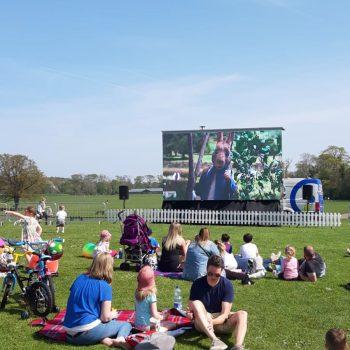 outdoor cinema big screen hire 2019 6