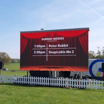 outdoor cinema big screen hire 2019 7