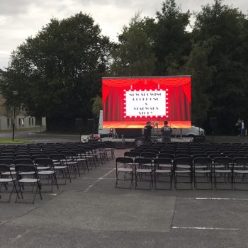 outdoor cinema big screen hire 5