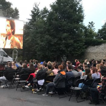 outdoor cinema big screen hire 6