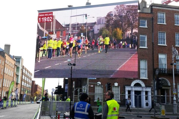 road race marathons big screen hire