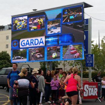 road races marathons big screen hire 13