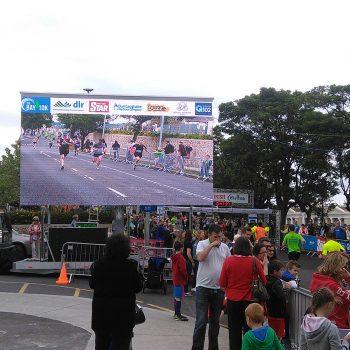 road races marathons big screen hire 14
