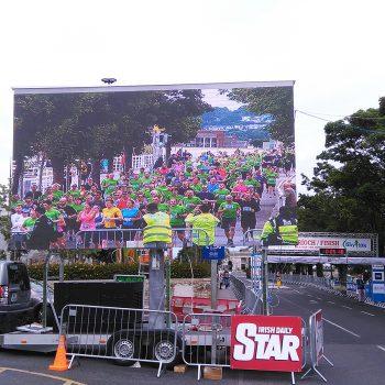 road races marathons big screen hire 15