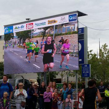 road races marathons big screen hire 16