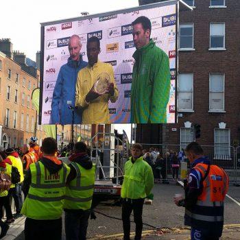 road races marathons big screen hire 4
