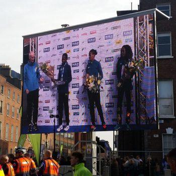 road races marathons big screen hire 5