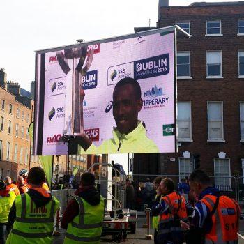 road races marathons big screen hire 6
