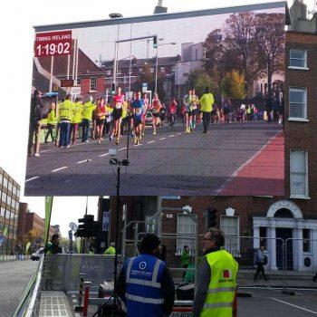 road races marathons big screen hire 8