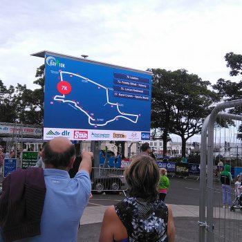 road races marathons big screen hire 9