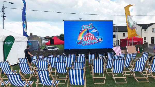 Outdoor Cinemas Big Screen Hire