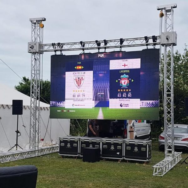 bigtv12 led screen big screen hire